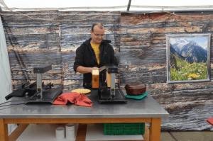 Als Gastwinzer im Rheingau - Wein und Raclette - aavr (1)