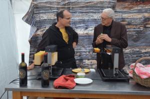 Als Gastwinzer im Rheingau - Wein und Raclette - aavr (5)